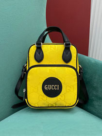 GG original canvas off the grid messenger bag 625850 yellow