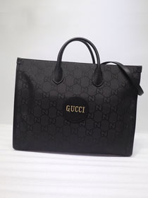 GG original canvas off the grid tote bag 630353 black