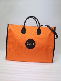 GG original canvas off the grid tote bag 630353 orange