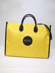 GG original canvas off the grid tote bag 630353 yellow