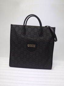 GG original canvas off the grid tote bag 630355 black