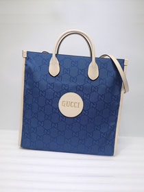 GG original canvas off the grid tote bag 630355 blue