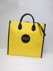 GG original canvas off the grid tote bag 630355 yellow