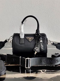 Prada nylon re-edition 2005 bag 1BB846 black