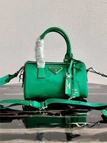 Prada nylon re-edition 2005 bag 1BB846 green