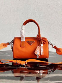 Prada nylon re-edition 2005 bag 1BB846 orange