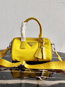 Prada nylon re-edition 2005 bag 1BB846 yellow