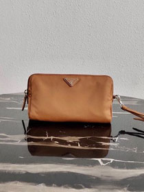 Prada original nylon pouch 1NE693 coffee