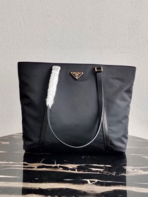 Prada original nylon shopping bag 1BG291 black