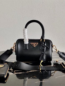 Prada original saffiano leather re-edition 2005 bag 1BB846 black