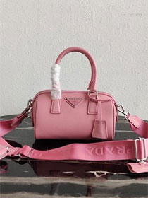 Prada original saffiano leather re-edition 2005 bag 1BB846 pink
