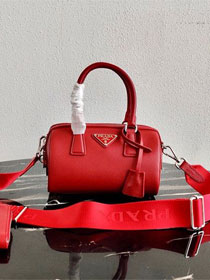 Prada original saffiano leather re-edition 2005 bag 1BB846 red