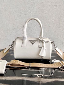 Prada original saffiano leather re-edition 2005 bag 1BB846 white