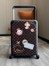 Louis vuitton original monogram canvas horizon 55 rolling luggage M23204