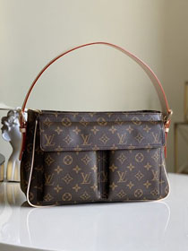 Louis vuitton original monogram canvas classic top handbag M51160