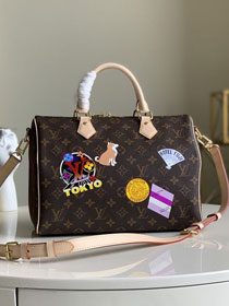 Louis vuitton original monogram canvas speedy 30 bag M40391