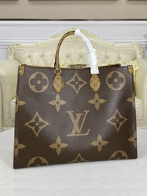 2021 louis vuitton original monogram giant canvas onthego tote bag GM M44576