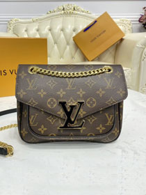 2021 Louis vuitton original monogram canvas passy handbag M45592