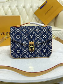 2021 Louis vuitton original since 1854 pochette metis bag M57395 blue