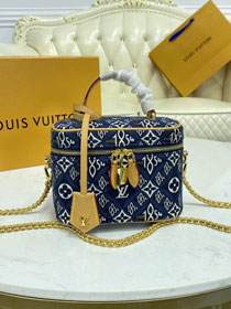 2021 Louis vuitton original since 1854 textile vanity pm M57403 blue